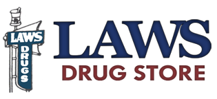 Laws Drug Store Logo